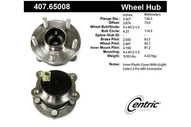 centric-CE 40765008 Fro