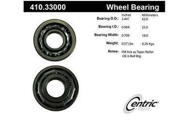 centric-CE 41033000 Fro