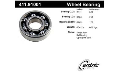 centric-CE 41191001 Fro