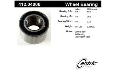 centric-CE 41204000 Fro