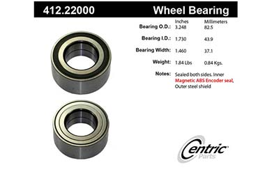 centric-CE 41222000 Fro