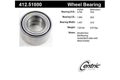 centric-CE 41251000 Fro