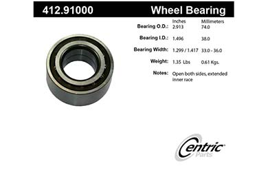 centric-CE 41291000 Fro