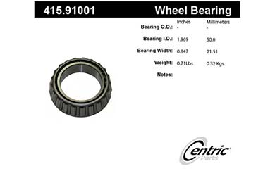 centric-CE 41591001 Fro