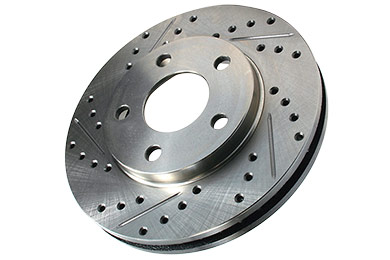 centric c tek drilled slotted brake rotors sample