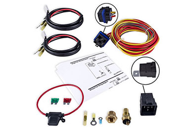 champion cooling electric fan relay kit sample