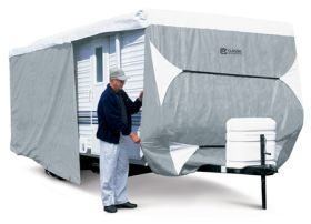 classic accessories polypro 3 deluxe travel trailer cover