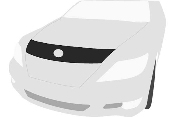 Black Carbon Fiber Colgan Custom Fit Sports Bra Front End Mask for Select Scion xB Models