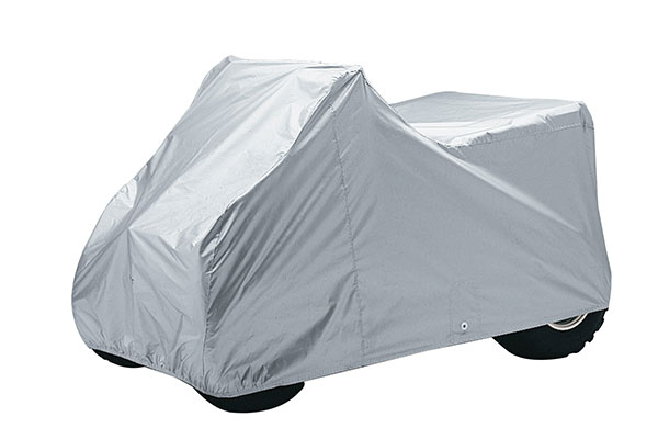 covercraft ready fit atv covers grey
