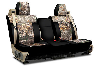 coverking neosupreme seat cover black realtree
