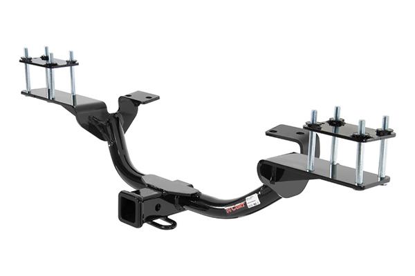 2007 2013 mercedes benz gl class receiver hitches curt for Mercedes benz gl450 ski rack