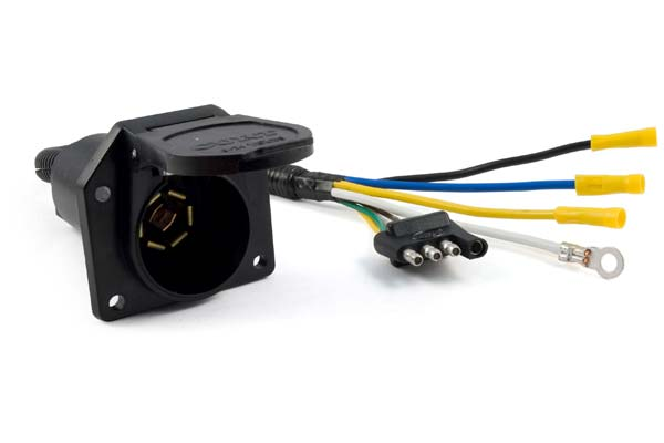 Curt 57184 - Curt Trailer Wiring Adapters