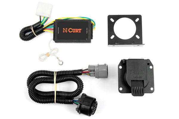 curt 56097 curt t connectors free shipping! trailer light wiring color diagram curt 7 pin wiring harness #33
