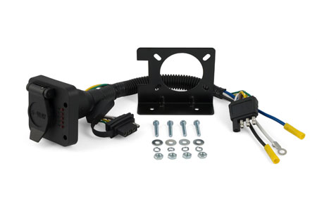 curt trailer hitch wiring adapters 57624
