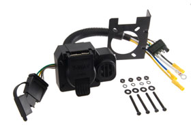 curt trailer hitch wiring adapters 57102