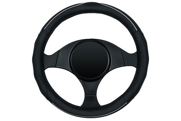dash designs racing grip steering wheel cover black sample
