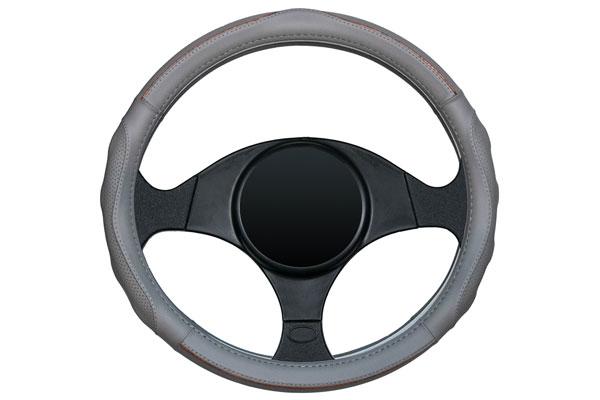 dash designs racing grip steering wheel cover grey sample