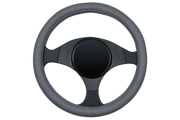 dash designs sedona sport steering wheel cover grey sample