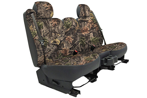 2011 Jeep Wrangler Seat Designs SuperFlauge Camo Neosupreme Seat Covers in Hunter, 1st-Row Seat Covers