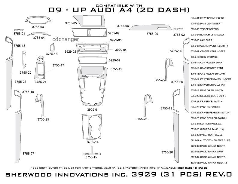 sherwood dash 3929