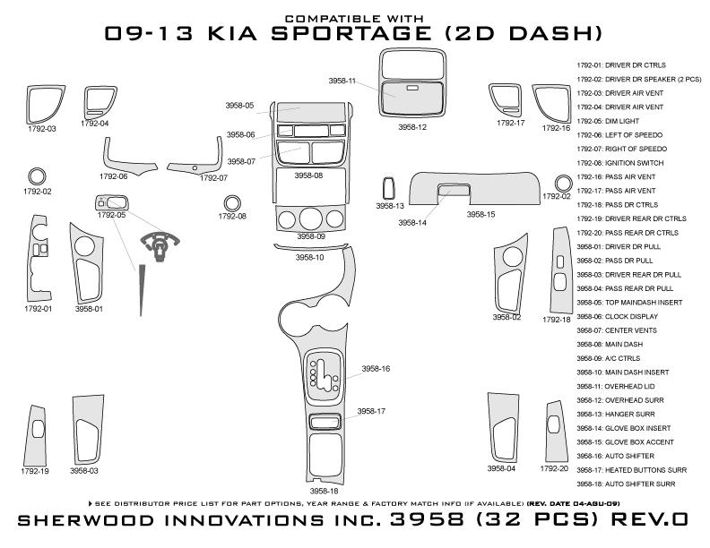 sherwood dash 3958