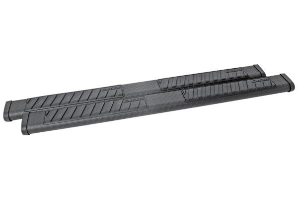 dee zee 6 black tread side steps crew extended cab sample