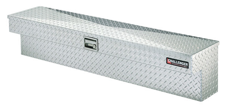 deflecta shield side mount truck toolbox polished