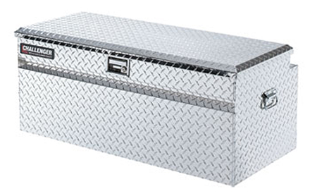 deflecta shield truck tool chest with handles polished
