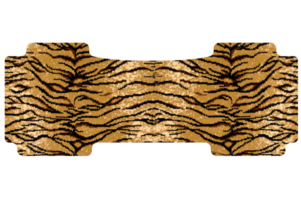 dm safari tiger rear overall mat sample