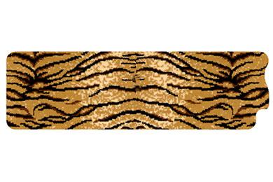 dm safari tiger right rail mat sample