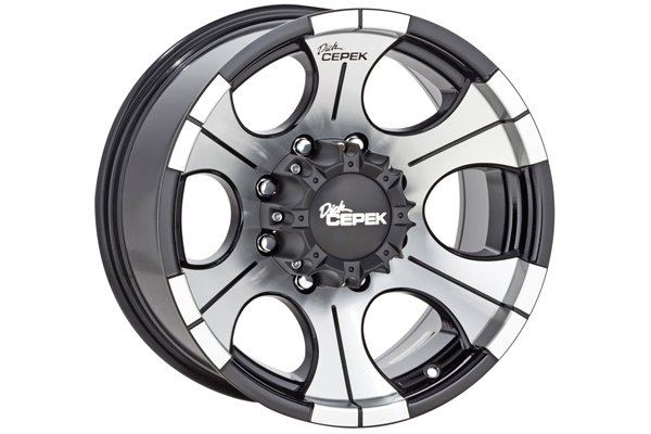 dick cepek dc 2 wheels machined face with black accents sample