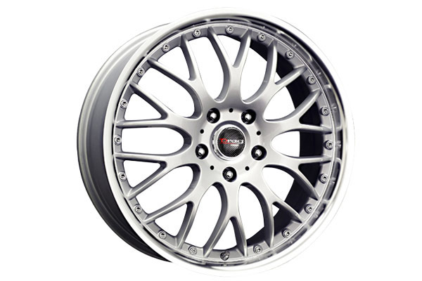drag dr 19 wheels silver