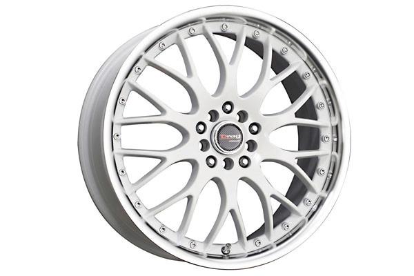 drag dr 19 wheels white