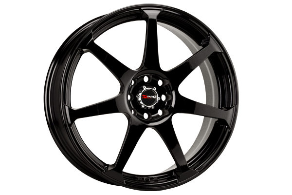 drag dr 33 wheels gloss black fully painted