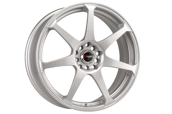 drag dr 33 wheels silver fully painted