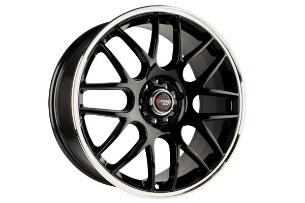 drag dr 34 wheels gloss black