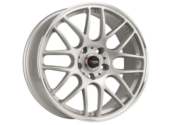 drag dr 37 wheels silver fully painted