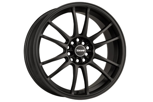 drag dr 38 wheels flat black