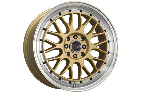 drag dr 44 wheels gold small lip
