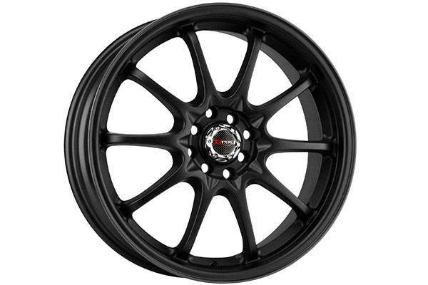 drag dr 9 wheels flat black fully painted