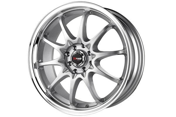 drag dr 9 wheels silver