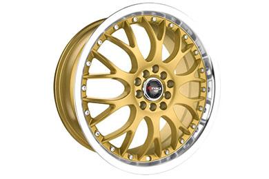 drag dr 19 wheels gold