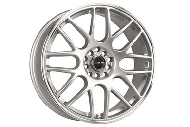 drag dr 34 wheels silver