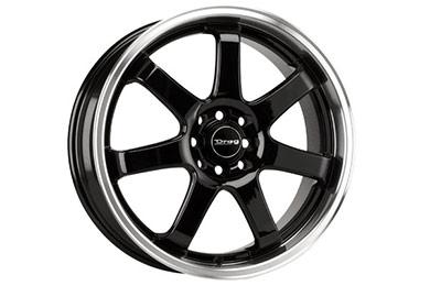 drag dr 35 wheels gloss black