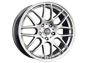 drag dr 37 wheels hyper silver fully painted