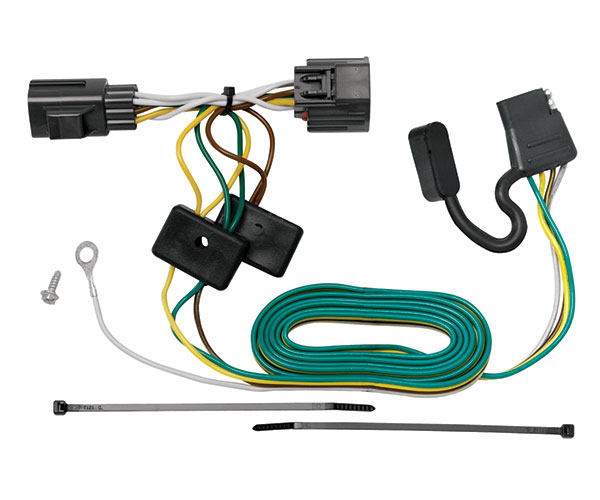 tekonsha 118416 tekonsha t one connector free shipping rh autoanything com tow ready wiring installation tow ready trailer wiring harness