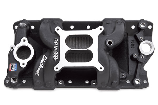 Image of Edelbrock Performer RPM Air Gap Intake Manifolds 75013 Performer RPM Air Gap Intake Manifold