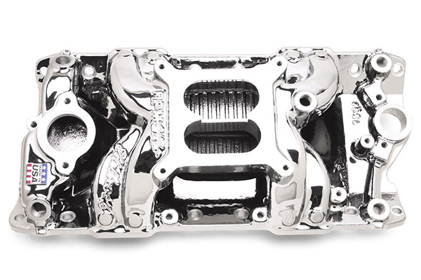 Image of Edelbrock Performer RPM Air Gap Intake Manifolds 75014 Performer RPM Air Gap Intake Manifold
