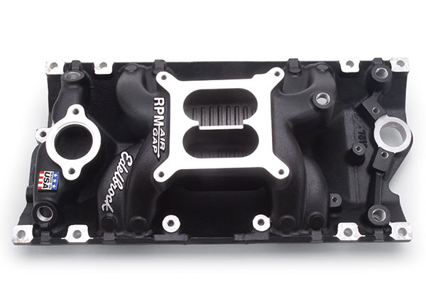 Image of Edelbrock Performer RPM Air Gap Intake Manifolds 75163 Performer RPM Air Gap Intake Manifold