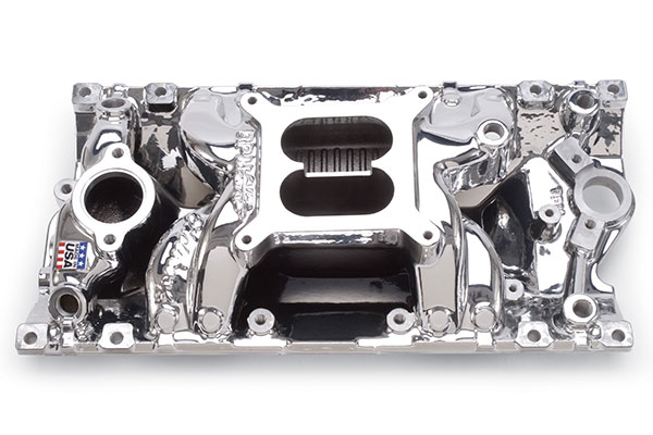 Image of Edelbrock Performer RPM Air Gap Intake Manifolds 75164 Performer RPM Air Gap Intake Manifold